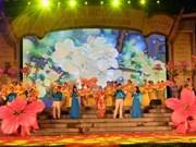 Celebran en Vietnam Festival de Cerezo y Albaricoque Amarillo