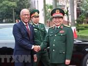 Acuerdan Vietnam y Filipinas fortalecer la cooperación en defensa