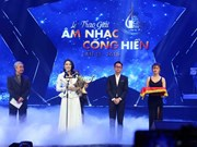 Entregarán en abril próximo premios musicales de la Agencia Vietnamita de Noticias