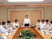 Pide vicepremier vietnamita un desembolso más rápido de inversión pública