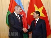 Destacan a Vietnam como importante socio de Azerbaiyán en el Sudeste Asiático
