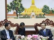 Resaltan vicepremier  laosiano avances en la cooperación con Vietnam sobre información y comunicación