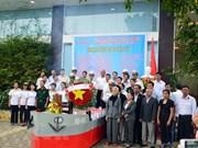 Homenajean a combatientes vietnamitas caídos en la isla de Gac Ma