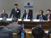 Intensifican Vietnam y Sudáfrica cooperación en inversión y comercio