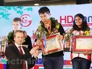 Ganó el chino Wang Hao torneo de ajedrez HDBank en Vietnam