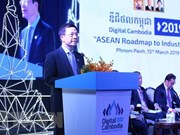 Invita Vietnam a países a participar en centro de conexión sobre cuarta revolución industrial