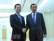 Pide primer ministro camboyano apoyo de Vietnam para construir centro de vigilancia de ciberseguridad
