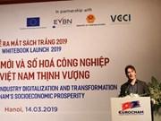 Realiza Cámara Europea de Comercio propuestas para un mejor entorno de negocios en Vietnam