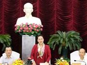 Presidenta del Parlamento vietnamita insta a Binh Thuan a optimizar potencial turístico