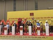 Exporta corporación vietnamita 15 mil toneladas de chapas de acero a países europeos