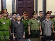 Mantienen condenas a encausados por actos contra la administración popular de Vietnam