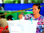 Participación de tailandeses en votación anticipada alcanza 75 por ciento