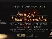 Se celebrará en Hanoi concierto de amistad Vietnam- Japón