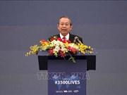 Participa Vietnam en campaña global de seguridad vial