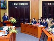 Destacan en Vietnam avances en la construcción de zonas de defensa