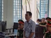 Condenan a prisión un vietnamita por actuar contra el Partido y Estado