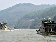 Finaliza en China patrullaje conjunto en el río Mekong
