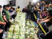 Intensifica Tailandia su cruzada contra el narcotrafico