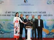 Celebran en Vietnam actividades por Día Mundial del Agua