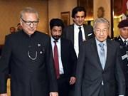 Malasia y Pakistán firman memorandos de cooperación comercial