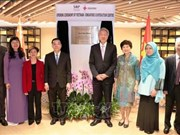 Se inaugura Centro de Cooperación Vietnam-Singapur en Hanoi