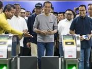 Yakarta inaugura su primera línea de metro subterráneo