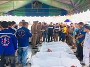 Cancillería de Vietnam pide verificar identidad de víctimas en accidente de tránsito en Tailandia