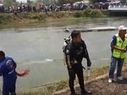 Mueren cinco vietnamitas en un accidente de autobús en Tailandia