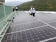 Primera planta de energía solar en provincia vietnamita de Quang Tri operará en junio de 2019