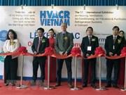 Participan más de 250 empresas en exposición de sistema de refrigeración en Vietnam