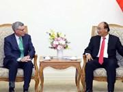 Recaba premier de Vietnam asistencia de VISA a seguridad de transacciones electrónicas