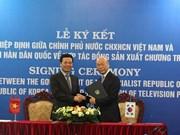 Vietnam y Corea del Sur coproducirán programas de televisión