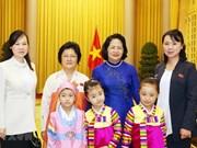Vietnam atesora amistad con Corea del Norte, afirma vicepresidenta vietnamita