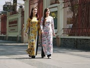 Presentan Vietnam en la India el Ao dai, su traje tradicional