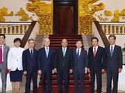 Recibe premier vietnamita al presidente de la Comisión sudcoreana de Comunicaciones