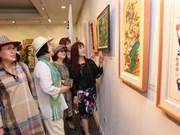 Celebran por primera vez Exhibición de Intercambio Artístico Corea del Sur - Vietnam