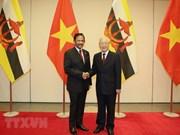 Máximo dirigente vietnamita ofrece banquete de bienvenida al sultán de Brunei