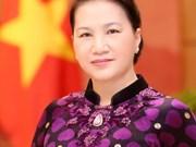 Parte presidenta del Parlamento de Vietnam para gira por Marruecos, Francia, y Quatar