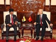 Ampliarán  Vietnam y Brunei el comercio bilateral
