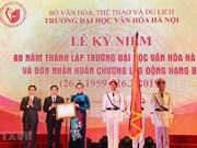 Preside vicepremier vietnamita acto por aniversario 60 de fundación de la Universidad de Cultura de Hanoi