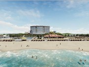 Construyen centro turístico de estilo japonés en ciudad vietnamita de Da Nang