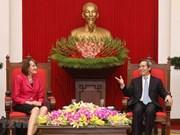 Propone Vietnam continua asistencia de Canadá al enfrentamiento al cambio climático