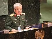 Vietnam reitera su compromiso con las operaciones de paz de la ONU