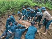 Mitin en Vietnam en respuesta al Día Internacional contra las minas