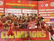 Vietnam se corona en Campeonato de Fútbol sub-19