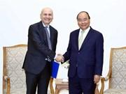 Respalda primer ministro de Vietnam apertura de ruta aérea directa a Italia