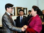 Resalta presidenta del Parlamento de Vietnam papel de Unión de Asociaciones de connacionales en Europa