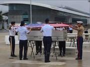 Repatrian restos de soldados estadounidenses caídos durante guerra en Vietnam