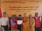 Entrega Sangha Budista de Vietnam artículos de socorro a víctimas de ciclón Idai en Mozambique