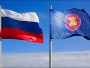Promueven cooperación más efectiva entre la ASEAN y Rusia